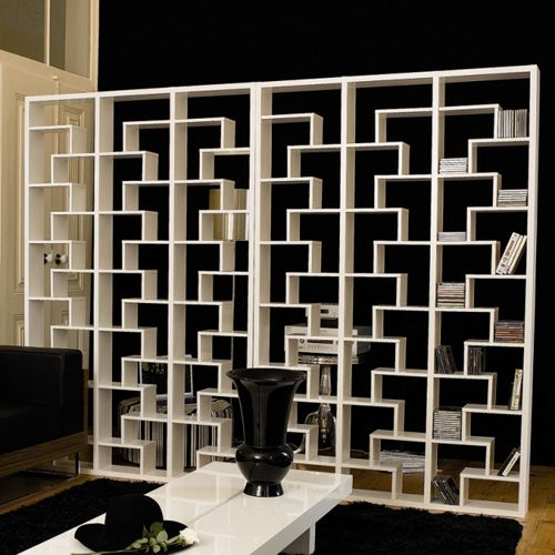 yum.: Open Shelves, Living Rooms, Home Interiors, Rooms Dividers Bookca, Brick Planter, Offices Area, Wall Dividers, The Offices, Art Deco