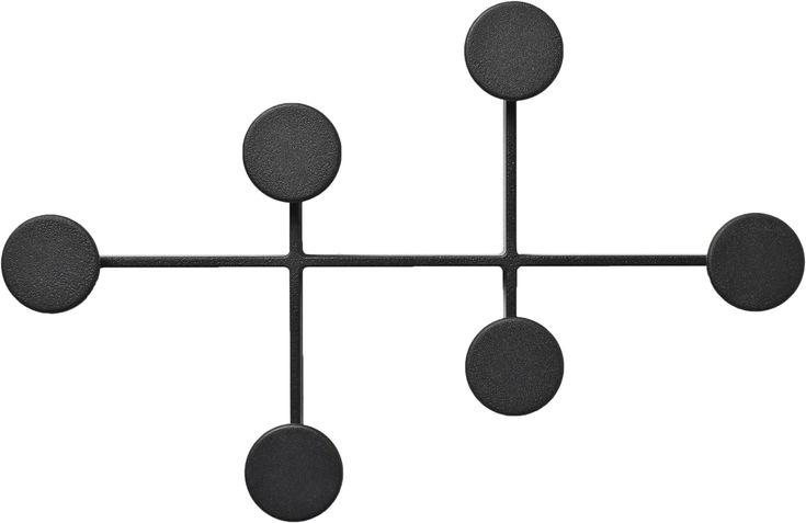 Afteroom Coat Hanger, Black fra Menu – Køb online på Magasin.dk
