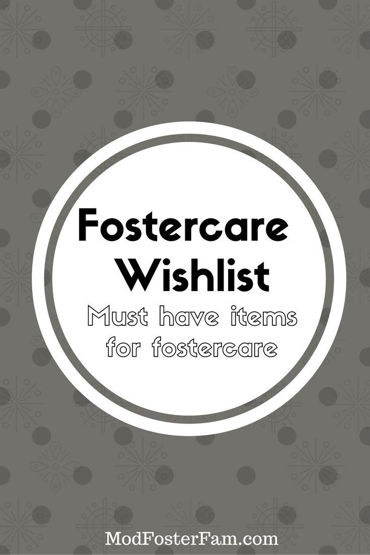 Wishlist Foster Care