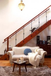 Bold transformation for an old home - Staircase