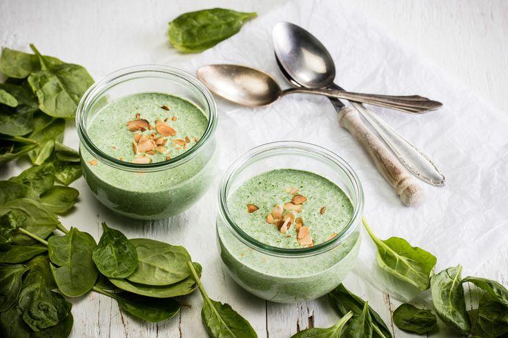 Szpinak - zielona moc witamin i energii.