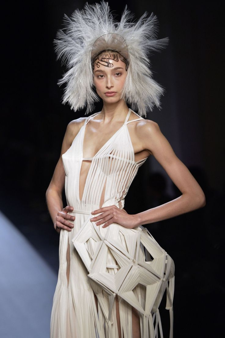 Jean Paul Gaultier's wedding-themed couture