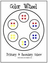 Printable color wheel: Mixed Color, Wheels Activities, Color Mixed, Color Wheels, Wheels Ideas, Eye Dropper, Food Color, Printable Color, Paper Towels