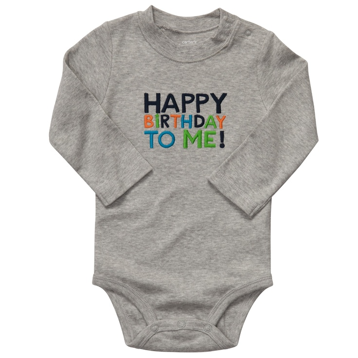 happy birthday to me! #carters  I so wanted this for S, but my local Carter's store is out of them and not restocking, and online, shipping is just as much as the sale price.