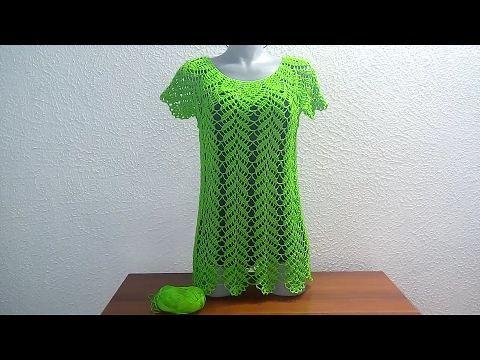 Punto Edbralda en crochet - punto  fantasía en crochet y tunecino - YouTube