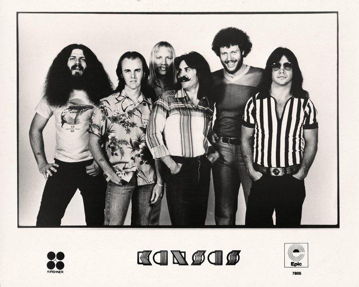 Kansas genre progressive rock members phil ehart drums billy greer bass