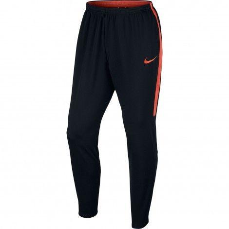 Nike Dry Academy trainingsbroek heren black turf orange #Nike #trainingsbroek