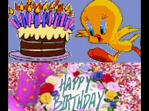 ▶ Happy birthday(song)/ Feliz cumpleaños(cancion) (English&Spanish) - YouTube