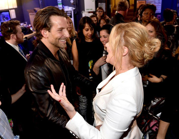 Pin for Later: The 19 Best Pictures From the MTV Movie Awards Bradley Cooper Chatting With Amy Schumer