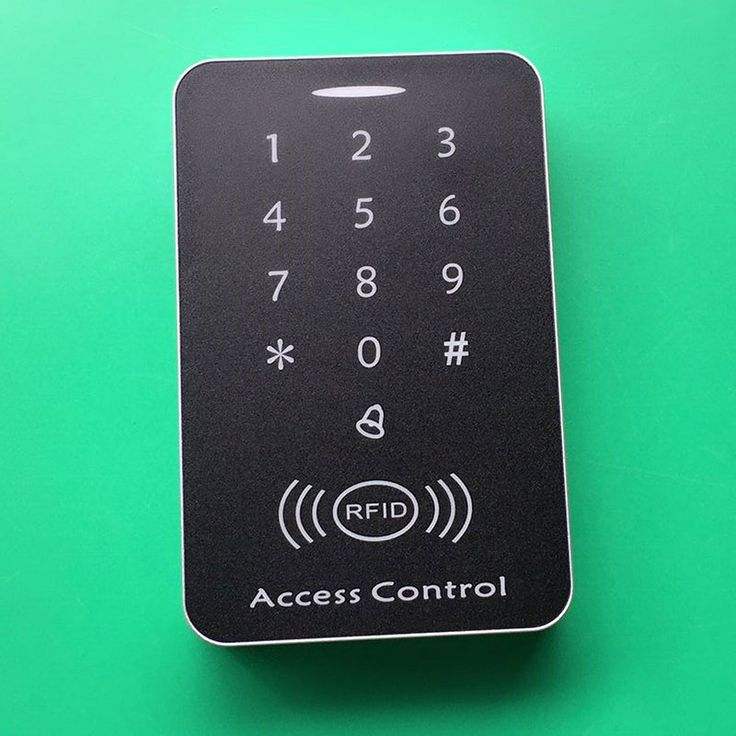 Free Shipping Rfid Access Control High Security RFID Proximity Entry Door Lock Access Control System 1000 User