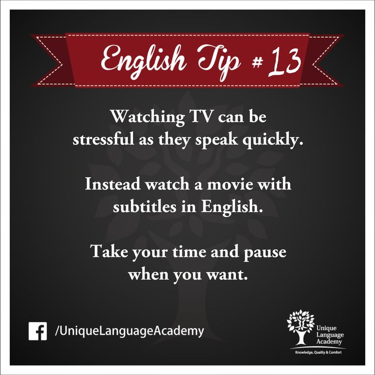 24 best our english tips images on pinterest beatles english unique language academys english tip 13 watch movies with subtitles in english https fandeluxe Gallery
