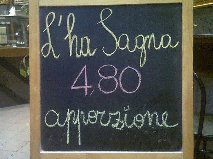 Lasagne € 4.80 a porzione