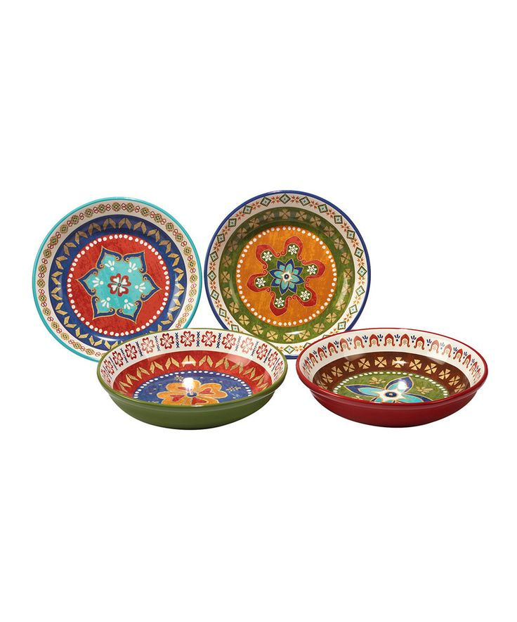 Take a look at this Monterrey Soup & Pasta Bowl - Set of Four today!