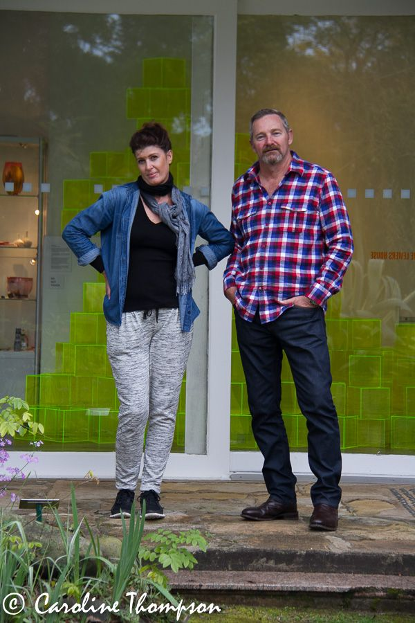 Jodie & Richard posing at Lewers..... Cool dudes they are...