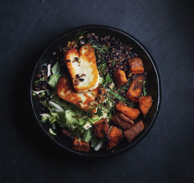 How to Make the Grain Bowl of Your Lunchtime Dreams - roast winter squash with korean chili powder!