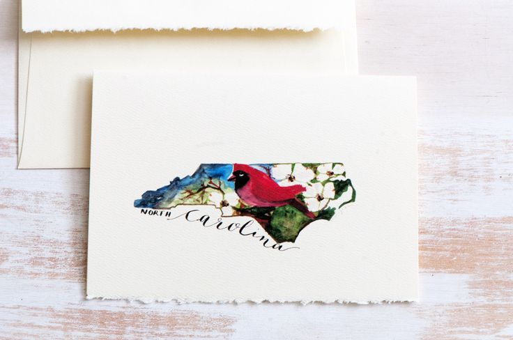North Carolina State Map Art, N Carolina State Art Card, State Love,For Dad, Father's Day, Bridal Gift,N Carolina map, Watercolor N Carolina by sanketi on Etsy
