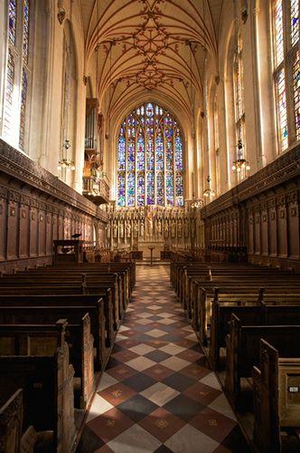 Winchester College Chapel.