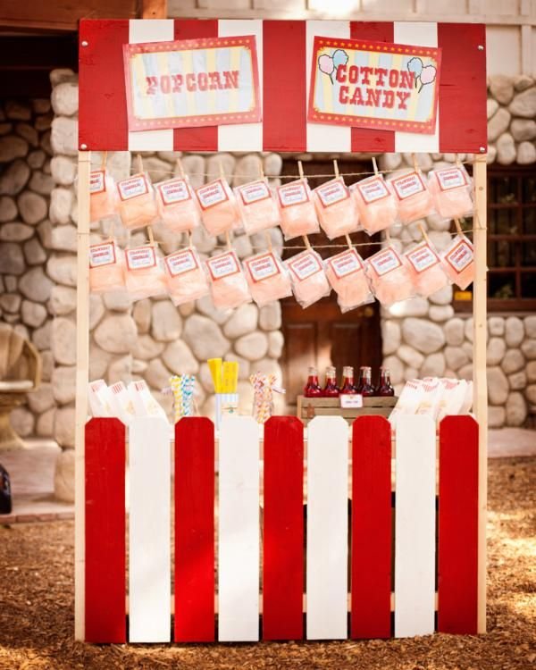 "TIcket Stand for Photo Booth Background (Foreground?) With interchangable sign for ""kissing booth."" Make out of cardboard?"