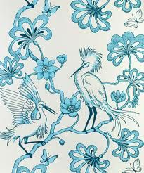 Florence Broadhurst Wallpaper (source Signature Prints) / Wallpaper Australia / The Ivory Tower