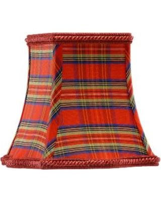Chelsea House Chelsea House 380142 Traditional Lamp Shade Plaid ...