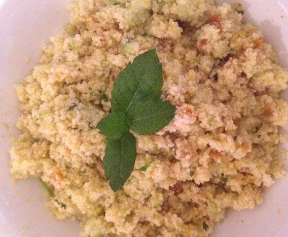 """Rezept Orientalischer Couscous-Salat """"Ruck-Zuck"""" von Johanns-mami - Rezept der Kategorie Vorspeisen/Salate"""