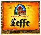 Sweet, caramely, malty, I love Leffe's Blond Ale.