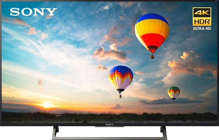 "Sony - 55"" Class (54.6"" Diag.) - LED - 2160p - Smart - 4K Ultra HD TV with High Dynamic Range #bestbuy #tech #wishlist"