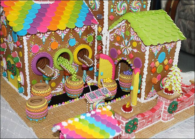 Unique candy house ideas on pinterest gingerbread