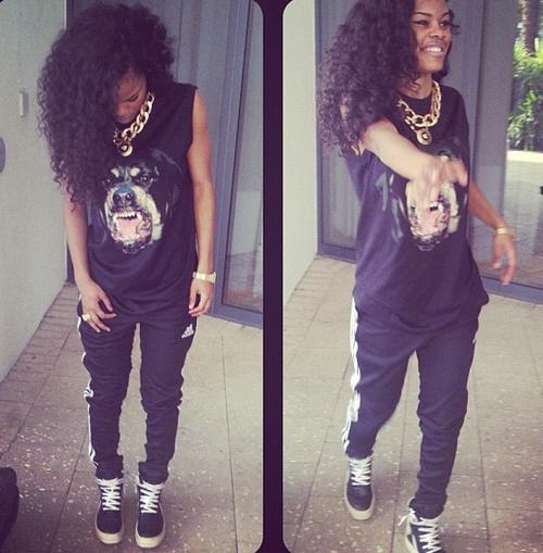 Teyana Taylor #dope #swag Pinterest : @imanikeisha