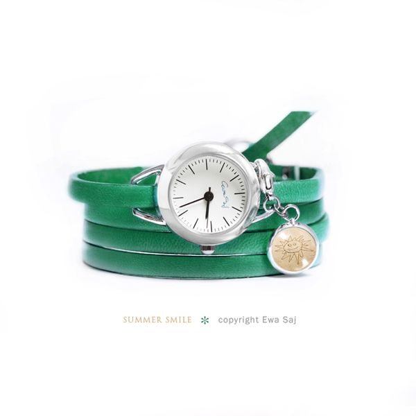 Summer Smile - zegarek w Ewa Saj na DaWanda.com
