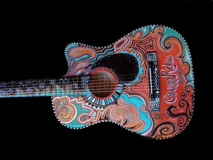 guitarMosaics Art, Guitar Art, Acoustic Guitar, Guitar Town