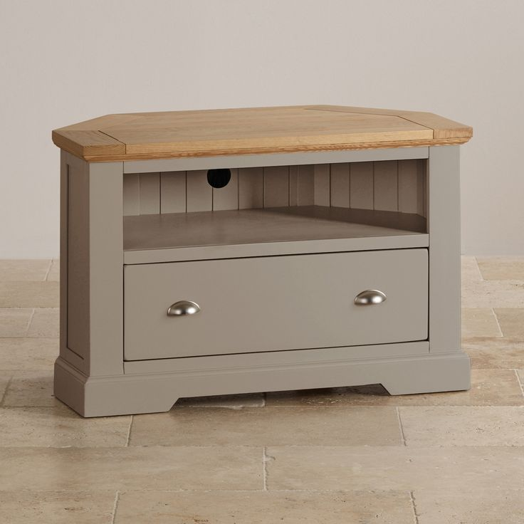 Oak Tv Cabinet Corner Unit