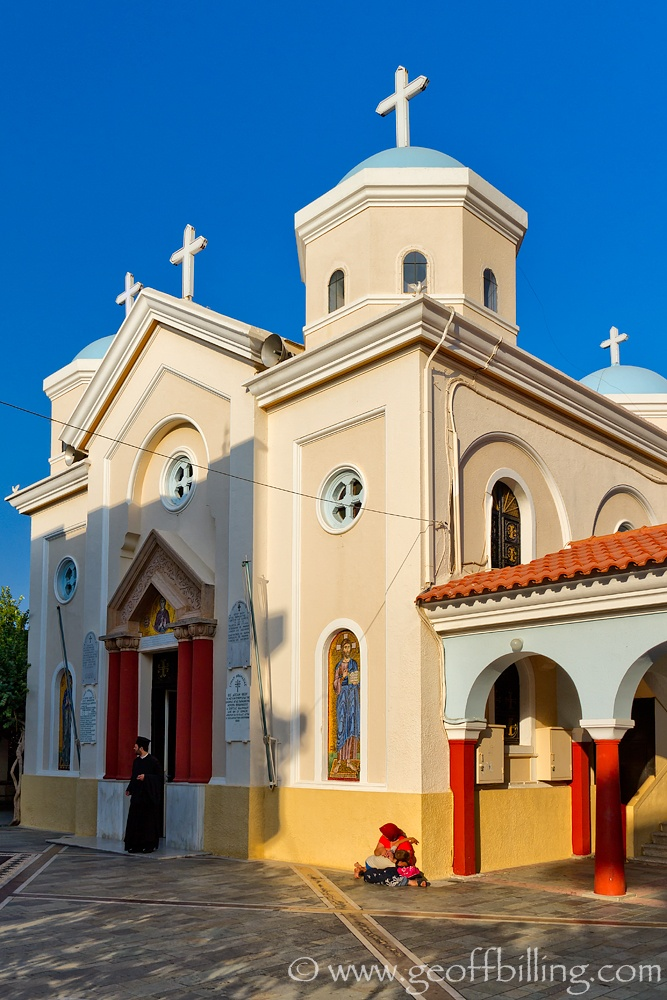 Agia Paraskevi in Kos, GREECE.  The church I got married in!!