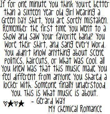 gerard way quotes | All Graphics » gerard way quotes