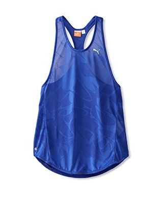 17% OFF PUMA Women's Move Sheer Tank (Clematis Blue)