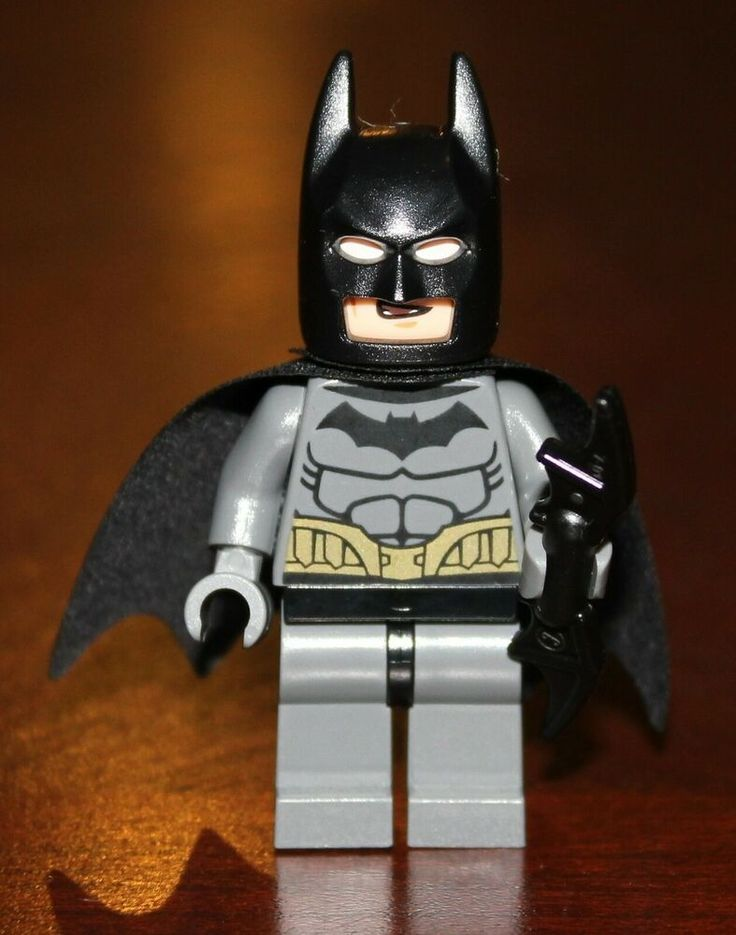 LEGO DC 76012 BATMAN Dark Gray Suit Minifigure Riddler