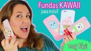 FUNDAS para movil celular KAWAII * kawaii mobile cover ** ¡Hoy no hay cole! - YouTube
