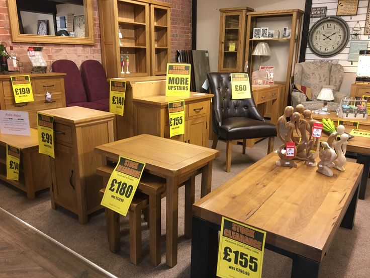 Up To 40% Off Oak Furniture At Thetford Carpet Warehouse While Stocks Last!