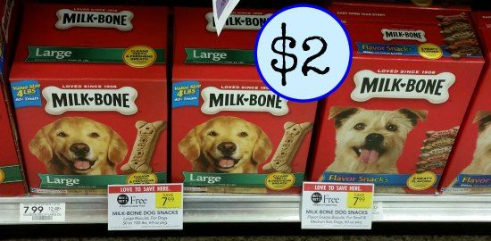 New Milk-Bone Dog Snacks Coupons For The Publix BOGO – Big Boxes As Low As $2