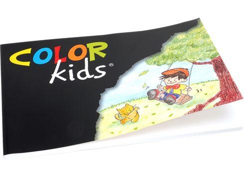 COLOR KIDS tegnepapir