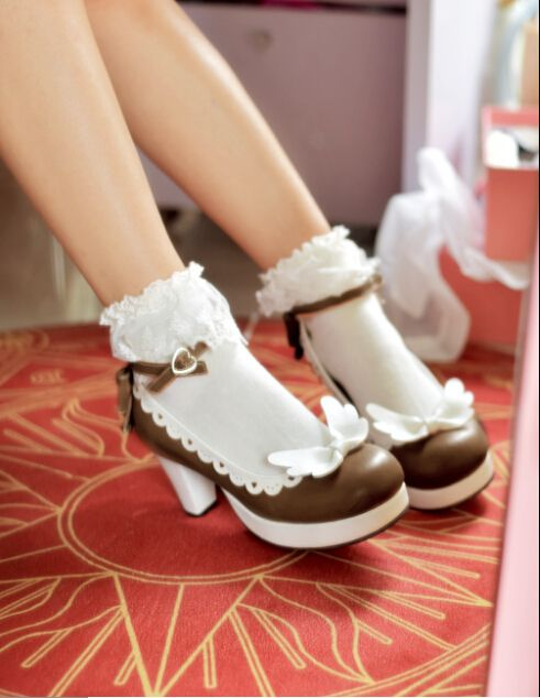 #LolitaUpdate: New Released [-❤♡-Angel's Wings Sweet Lolita Shoes-♡❤-] >>> http://www.my-lolita-dress.com/angels-wings-sweet-lolita-shoes-wxl-1 [-✔-Suitable for plus-sized Lolitas-✔-]