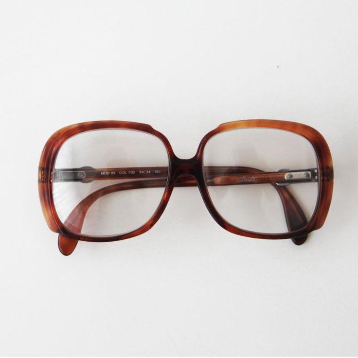 Vintage Silhouette gözlük çerçevesi