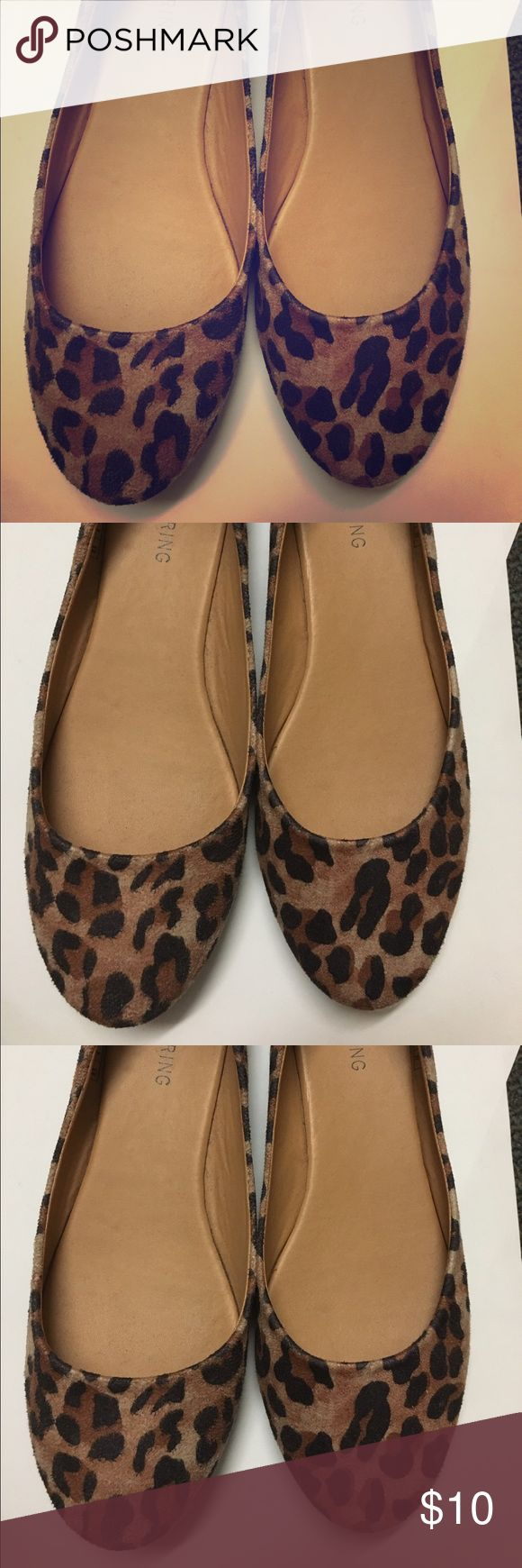 Call Spring Cheetah Print Flats Call Spring Cheetah Print Flats. Worn once excellent Condition. Call It Spring Shoes Flats & Loafers