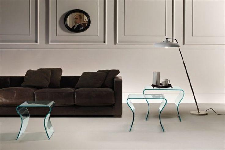 GlazenDesignTafel.nl | FIAM Design bijzettafel Charlotte Tris | by Prospero Rasulo | Italian Design | vidre glastoepassingen, Leiden | vidre.nl