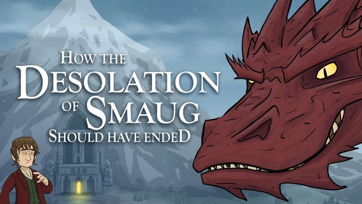 How The Desolation of Smaug Should Have Ended.I've been waiting for this the whole month.
