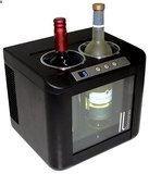 Vinotemp - Il Romanzo 2-Bottle Wine Cooler - Black