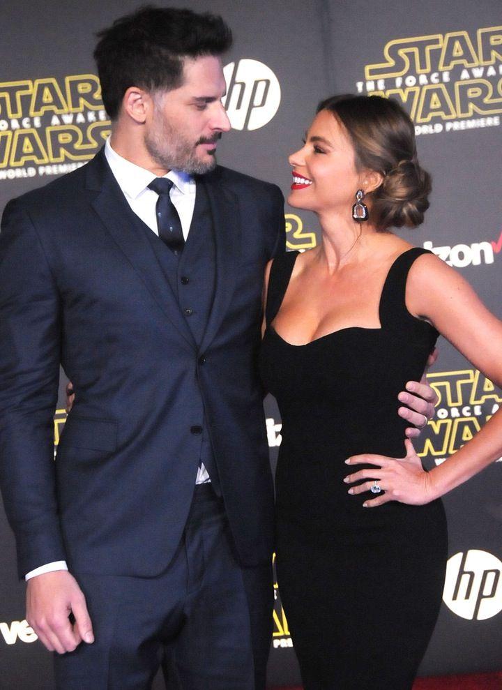 So in Love!: Sofia Vergara and Joe Manganiello Make Their First Red Carpet Appearance as a Married Couple at 'Star Wars' Premiere