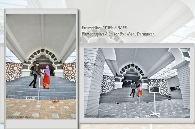 Wisnu Photographer: Prewedding : TITIEN & SAEP || Fotografer & Editing...