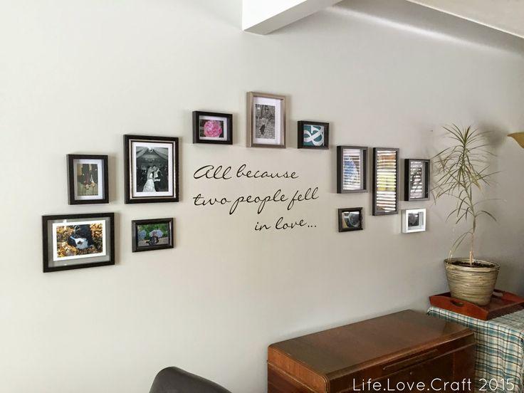 Life.Love.Craft: A New Gallery Wall - Progress