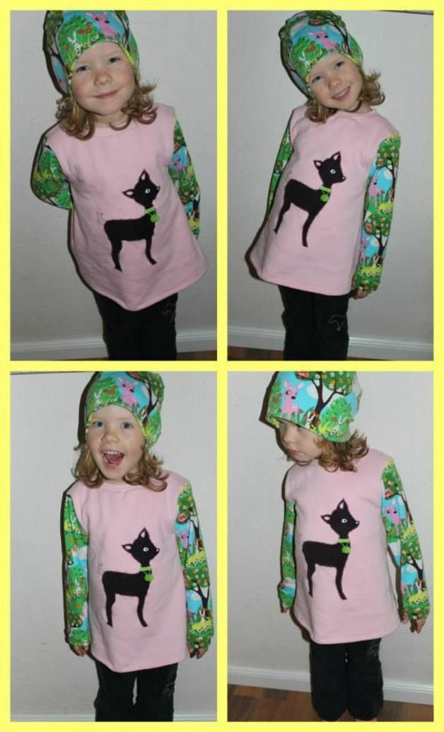 Sewing Tutorials Baby - E Book Girl Dress (shirt) Flicka Gr.50-128 - a designer piece of Lolletroll on DaWanda